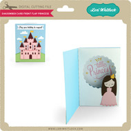 Shadowbox Card Front Flap Princess