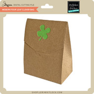 Modern Four Leaf Clover Bag