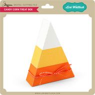 Candy Corn Treat Box