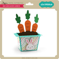 Box Card Easter Carrots