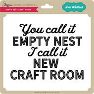 Empty Nest Craft Room