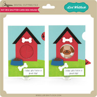 5x7 Iris Shutter Card Dog House