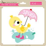 Sweet Spring - Duck Splash