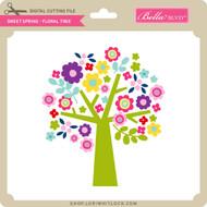 Sweet Spring - Floral Tree
