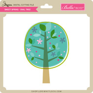 Sweet Spring - Oval Tree