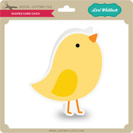 Shaped Card Chick