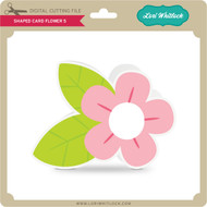 Shaped Card Flower 5