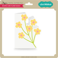 Shaped Card Flower Bunch