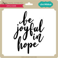 Joyful in Hope