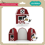 Double Gatefold Card Barn
