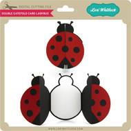 Double Gatefold Card Ladybug