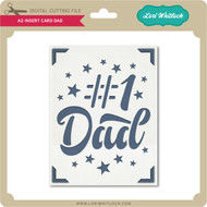 A2 Insert Card Dad