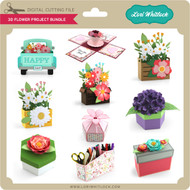 3D Flower Project Bundle
