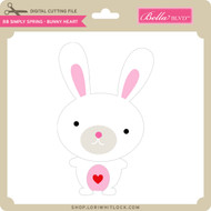 BB Simply Spring - Bunny Heart
