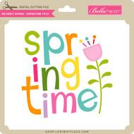 BB Simply Spring - Springtime Title