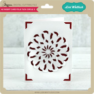 A2 Insert Card Fold Tuck Circle 3