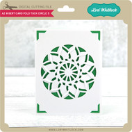 A2 Insert Card Fold Tuck Circle 5