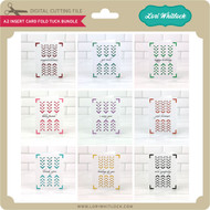 A2 Insert Card Fold Tuck Bundle