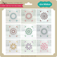 A2 Insert Card Fold Tuck Circle Bundle