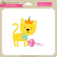 Chloe - Cat with Yarn