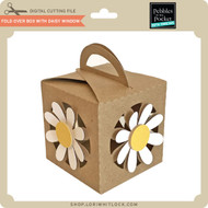 Fold Over Box with Daisy Window