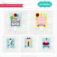 Double Slider Card Birthday Bundle