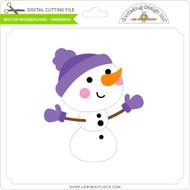 Winter Wonderland - Snowman