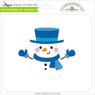 Winter Wonderland - Snowman 2