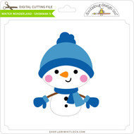 Winter Wonderland - Snowman 5