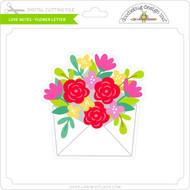 Love Notes - Flower Letter