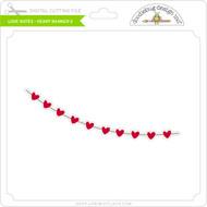 Love Notes - Heart Banner 2