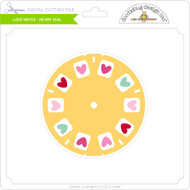 Love Notes - Heart Dial