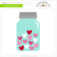 Love Notes - Heart Jar