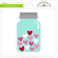 Love Notes - Heart Jar
