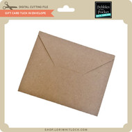 Gift Card Tuck In Envelope