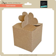 Heart Bow Box