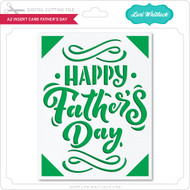 A2 Insert Card Father's Day