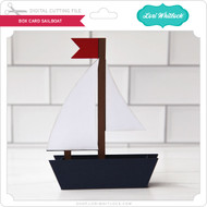 Box Card Sailboat