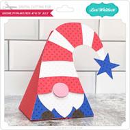 Gnome Pyramid Box 4th of July