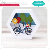 Hexagon Shadowbox Bicycle