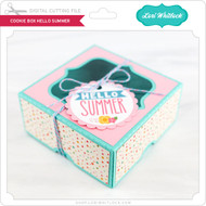 Cookie Box Hello Summer