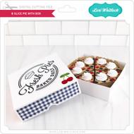 8 Slice Pie with Box