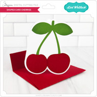 Shaped Card Cherries