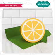 Shaped Card Lemon