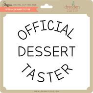 Official Dessert Tester