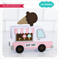 Box Card Ice Cream Truck