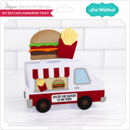 5x7 Box Card Hamburger Truck