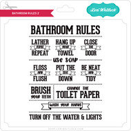 Bathroom Rules 2