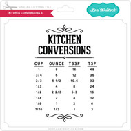 Kitchen Conversions 5