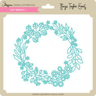 PE-Leaf Wreath 7